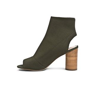New Steve Madden 'Sunnie' olive booties